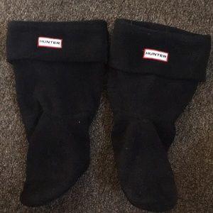 Short Black Hunter Boot Socks